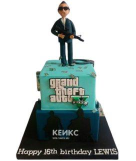 Торт GTA 4