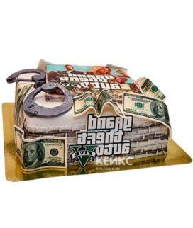 Торт GTA 5