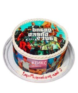 Торт GTA 6