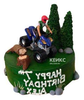 Торт Квадроцикл 2