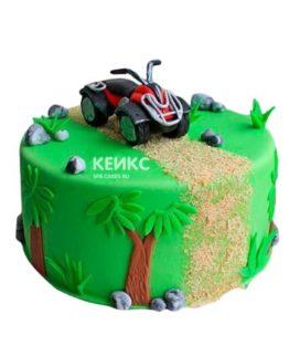 Торт Квадроцикл 4