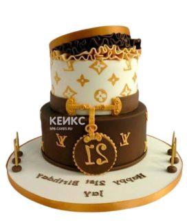 Торт Луи Виттон 1