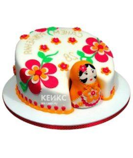 Торт Матрешка 5