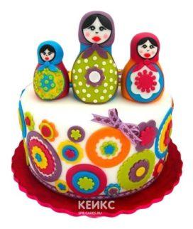 Торт Матрешка 6