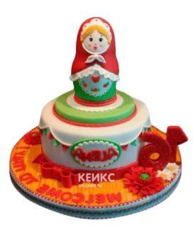 Торт Матрешка 7