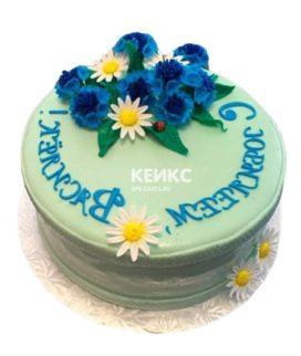Торт Васильки 4
