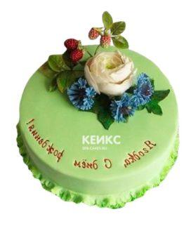 Торт Васильки 6