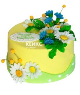 Торт Васильки 7