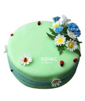 Торт Васильки 8
