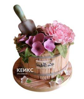 Торт Весенний 4