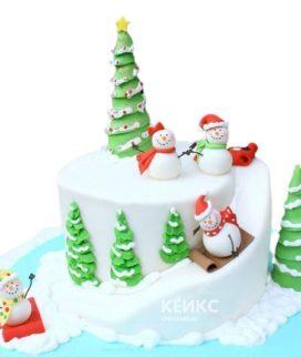 Торт Зимний 9