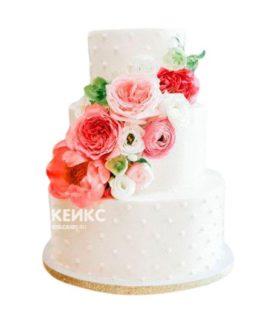 Торт Летний свадебный 10