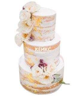 Торт Летний свадебный 12