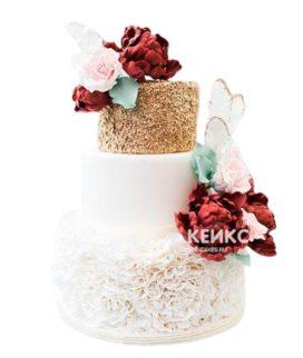 Торт Летний свадебный 3