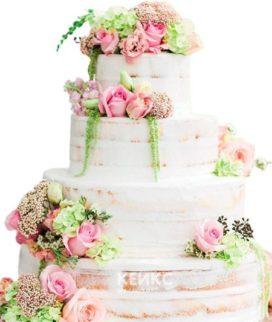 Торт Летний свадебный 5