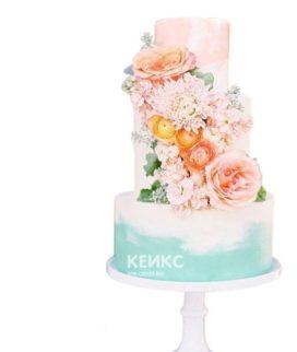 Торт Летний свадебный 6