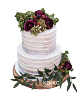 Торт Летний свадебный 9