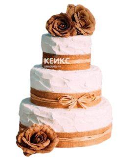Торт Осенний свадебный 11