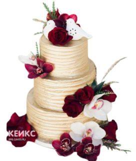Торт Осенний свадебный 13