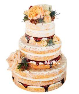 Торт Осенний свадебный 15