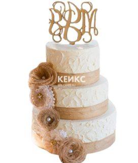 Торт Осенний свадебный 16
