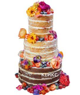Торт Осенний свадебный 2