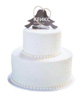 Торт Осенний свадебный 4