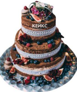 Торт Осенний свадебный 6