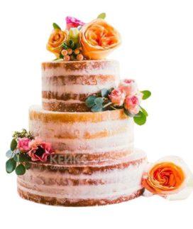 Торт Осенний свадебный 8