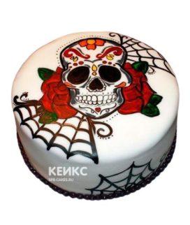 Торт Череп 5