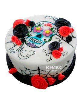 Торт Череп 7
