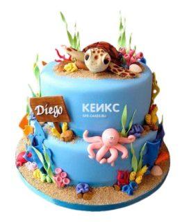 Торт Черепаха 7