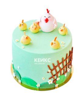 Торт Цыпленок 6