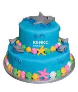 Торт Дельфин 9