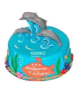 Торт Дельфин 2