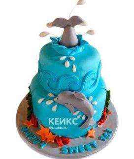 Торт Дельфин 8