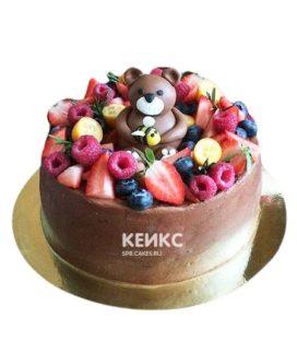 Торт детский ягодно-фруктовый 15