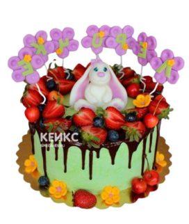 Торт детский ягодно-фруктовый 16