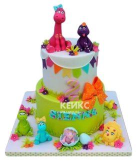 Торт Динозавр 10