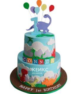 Торт Динозавр 12
