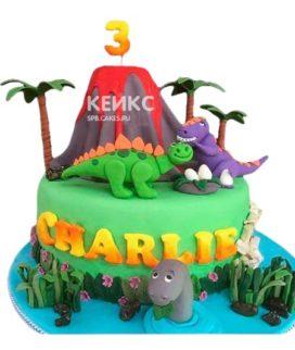 Торт Динозавр 13
