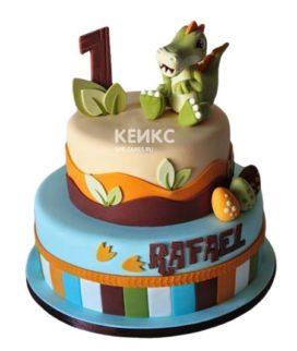 Торт Динозавр 14