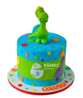 Торт Динозавр 17