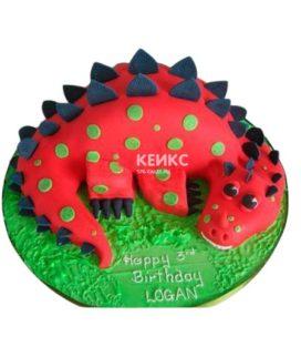 Торт Динозавр 18
