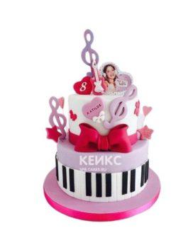 Торт для девочки на 10 лет 6