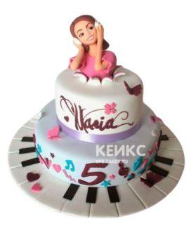 Торт для девочки на 10 лет 9