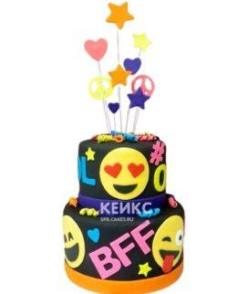 Торт для девочки на 10 лет 10
