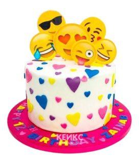 Торт для девочки на 10 лет 13