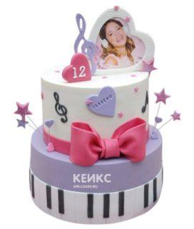 Торт для девочки на 10 лет 15