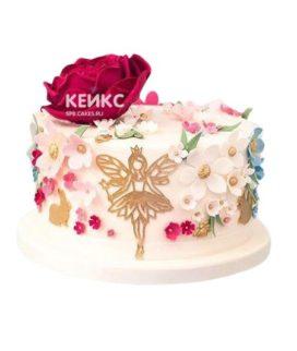 Торт для девочки на 6 лет 14